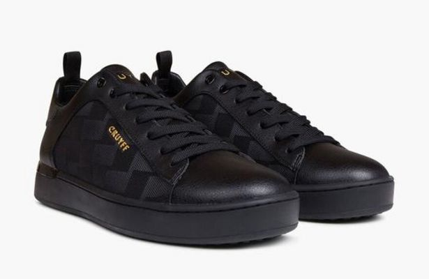 Patio Lux Men's Sneaker (Black) 3490 offers at R 2589