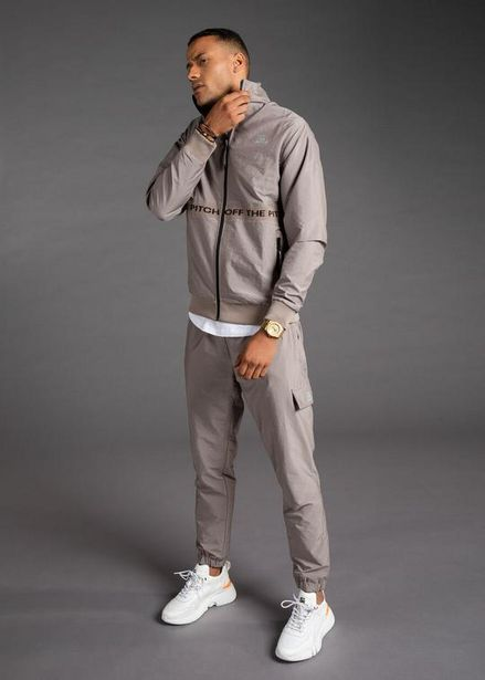 The Hero Tracktop & Trackpants Combo (Taupe) offers at R 2500