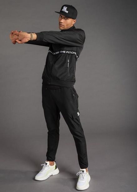 The Hero Tracktop & Trackpants Combo (Black) offers at R 2500