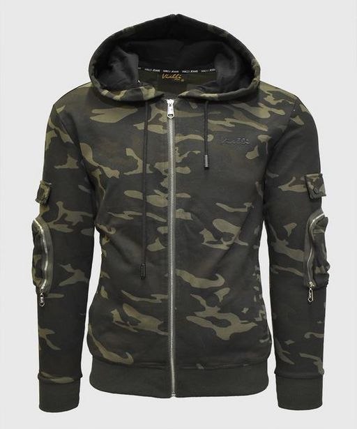 Bakkat Hooded Tracktop (Green Camo) offers at R 674,5