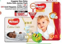 Diapers Huggies offer at R 199,95