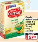 Baby cereals Nestlé offer at R 57,5