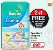 Diapers Pampers offer at R 89,95