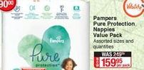 Diapers Pampers offer at R 159,95