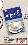 Sweetener Equal offer at R 36,95