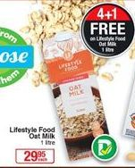 Oat milk offer at R 29,95