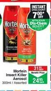 Insecticide Mortein offer at R 24,95