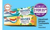 Toothpaste Aquafresh offer at R 35