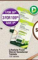 Sweetener offer at R 109,95