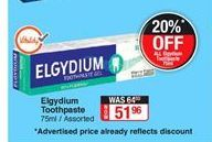 Toothpaste offer at R 51,96
