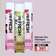 Shampoo offer at R 39,95