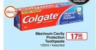 Toothpaste Colgate offer at R 17,5