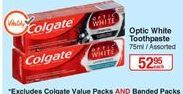 Toothpaste Colgate offer at R 52,95