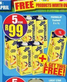 Parmalat Custard 5 offer at R 99