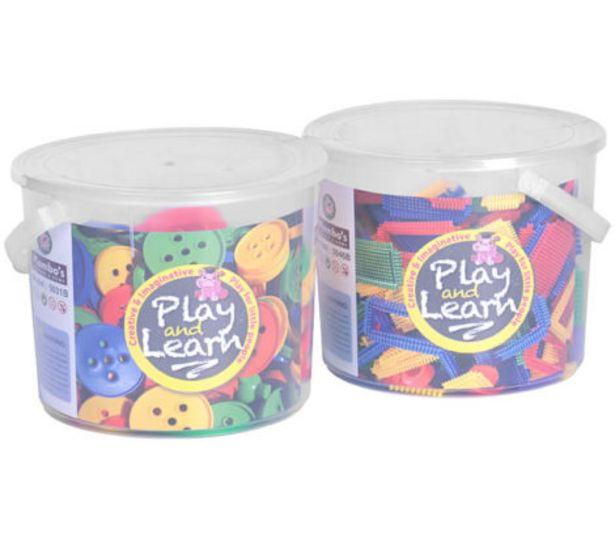 Build and Learn – Buy Any 2 Blocks in PVC Tub Big for R149 offers at R 149