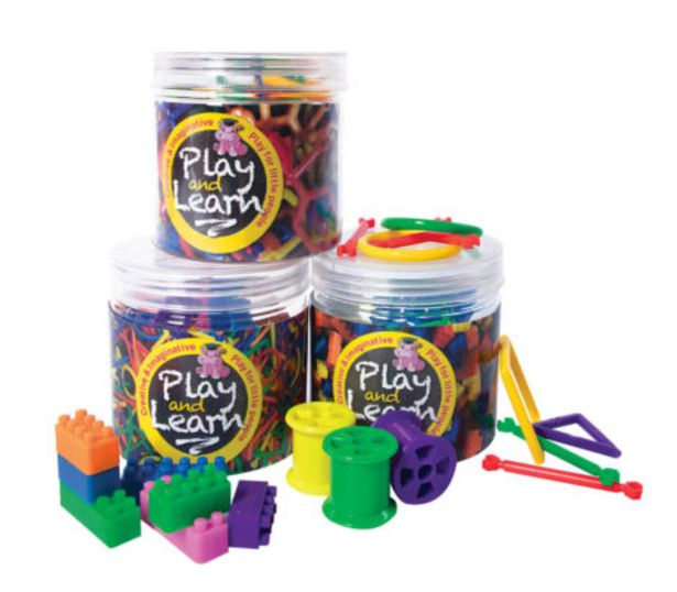 Building Blocks Assorted Buy 4 Promo offers at R 100