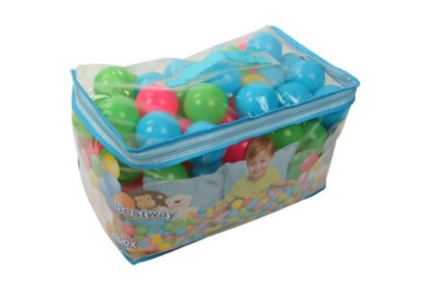 6.5cm Splash & Play 100 Bouncing Balls offers at R 189,99