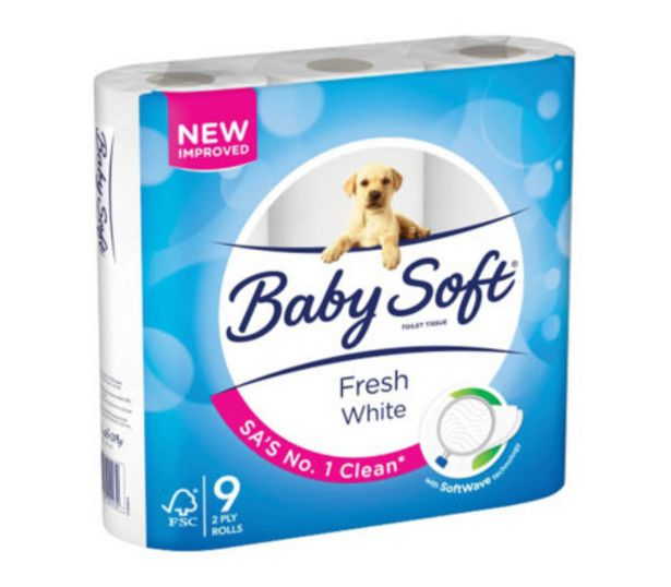 Baby Soft White 2Ply offers at R 59,99