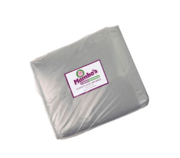Heavy Duty Refuse Bags 100Pk – Clear offers at R 119,99