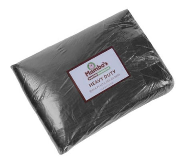 Heavy Duty Refuse Bags 100Pk – Black offers at R 99,99