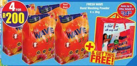 Easy Wave washing powder 4 offer at R 200