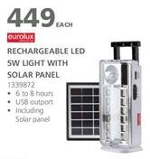 Rechargable led light offer at R 449