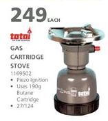 Gas cartridge offer at R 249