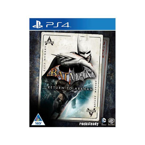 Batman Return to Arkham (PS4) offers at R 299