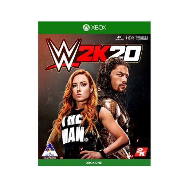 WWE 2K20 (Xbox One) offers at R 549