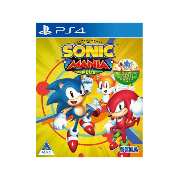 Sonic Mania Plus (PS4) offers at R 299