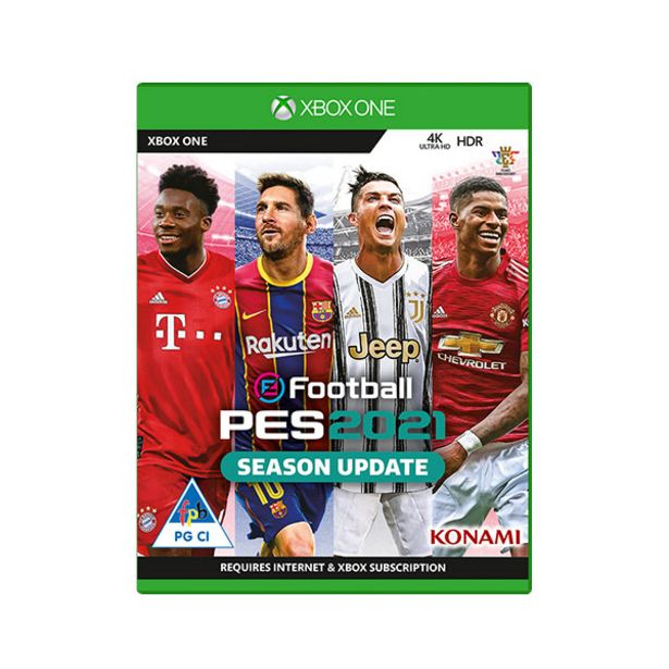 EFootball PES 2021 Season Update (Xbox One) offers at R 299