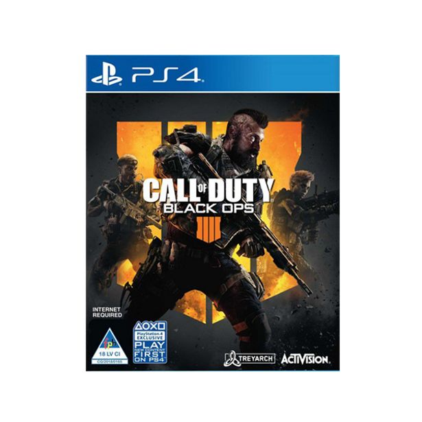 Call of Duty Black Ops 4 (PS4) offers at R 499