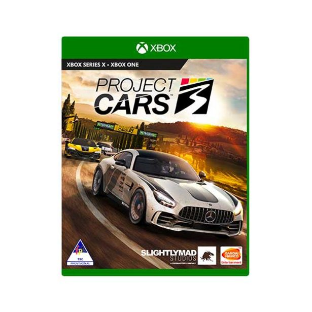 Project Cars 3 (Xbox One) offers at R 579