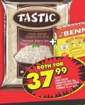 Tastic Rice  offer at R 37,99