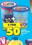 NutriDay Smooth Yoghurt 2 offer at R 50