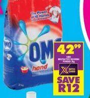 Omo Hand Washing Powder offer at R 42,99
