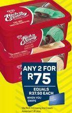 Ola Ice Cream 2 offer at R 75