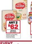 Nestlé Cerelac Baby Cereal 2 offer at R 62