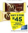 Magnum Ice Cream 2 offer at R 45