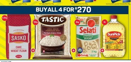 Combo offer at R 270