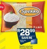 Spekko Long Grain Rice offer at R 28,99