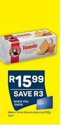 Bakers Tennis Biscuits  offer at R 15,99