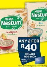 Nestlé Nestum Cereals 2 offer at R 40