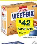 Bokomo Weet-Bix offer at R 42