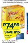 Pamper Cat Food offer at R 74,99