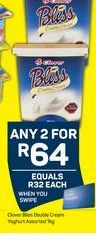 Clover Yogurt  2 offer at R 64