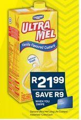Ultra Mel Custard offer at R 21,99