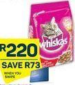 Whiskas Cat Food offer at R 220