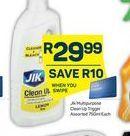 Jik Bleach offer at R 29,99