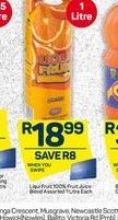 Liqui-Fruit Fruit Juice offer at R 18,99
